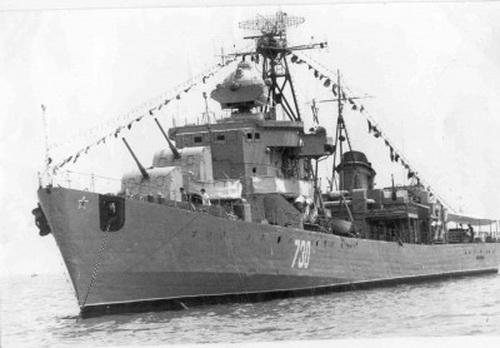 Сторожевой корабль сокол